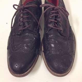 搬家出清~TINO BELLINI義大利皮鞋size42.5出清