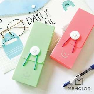 Candy Color Rectangular Plastic Pencil Case/Glasses Case