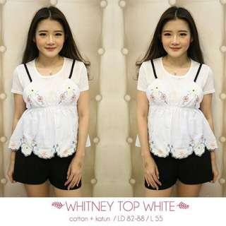 Whitney Top White