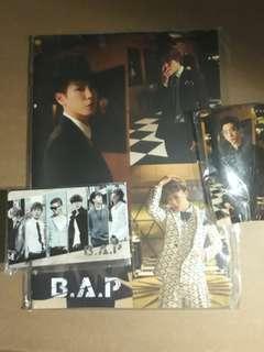 B.A.P notebook + 2 B.A.P E-Zlink sticker