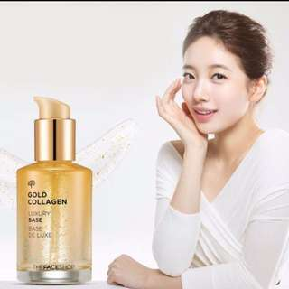 BN  Gold Collagen Luxury Base  (faceshop)