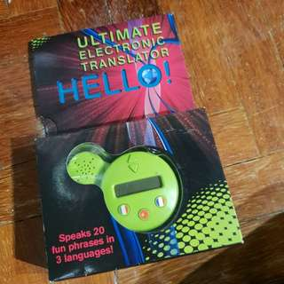 ULTIMATE TRANSLATOR BRAND NEW