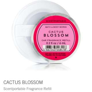 Bath and Body Works Scentportable Refill Cactus Blossom
