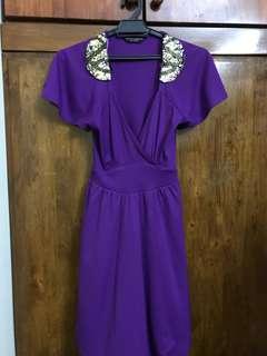 Dorothy Perkins Purple Dress