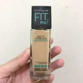 Maybelline Fit Me Foundation Matte Poreless shade 128