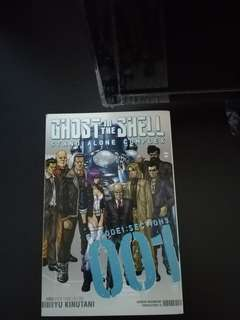 Ghost in the Shell Stand Alone Complex Vol 1 English Manga/Comic