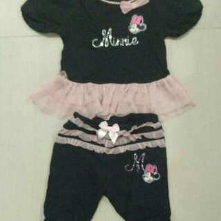 Baju Baby Disney 6-12mths