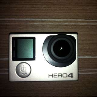 GOPRO HERO 4 SILVER WITH LCD SCREEN