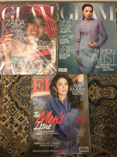 GLAM and EH magazine for only RM15!