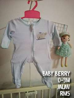 Sleepsuit blue