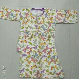Baju Kurung Cotton 1yr
