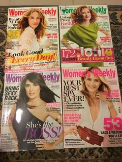 Womens Weekly magazine for only RM20!