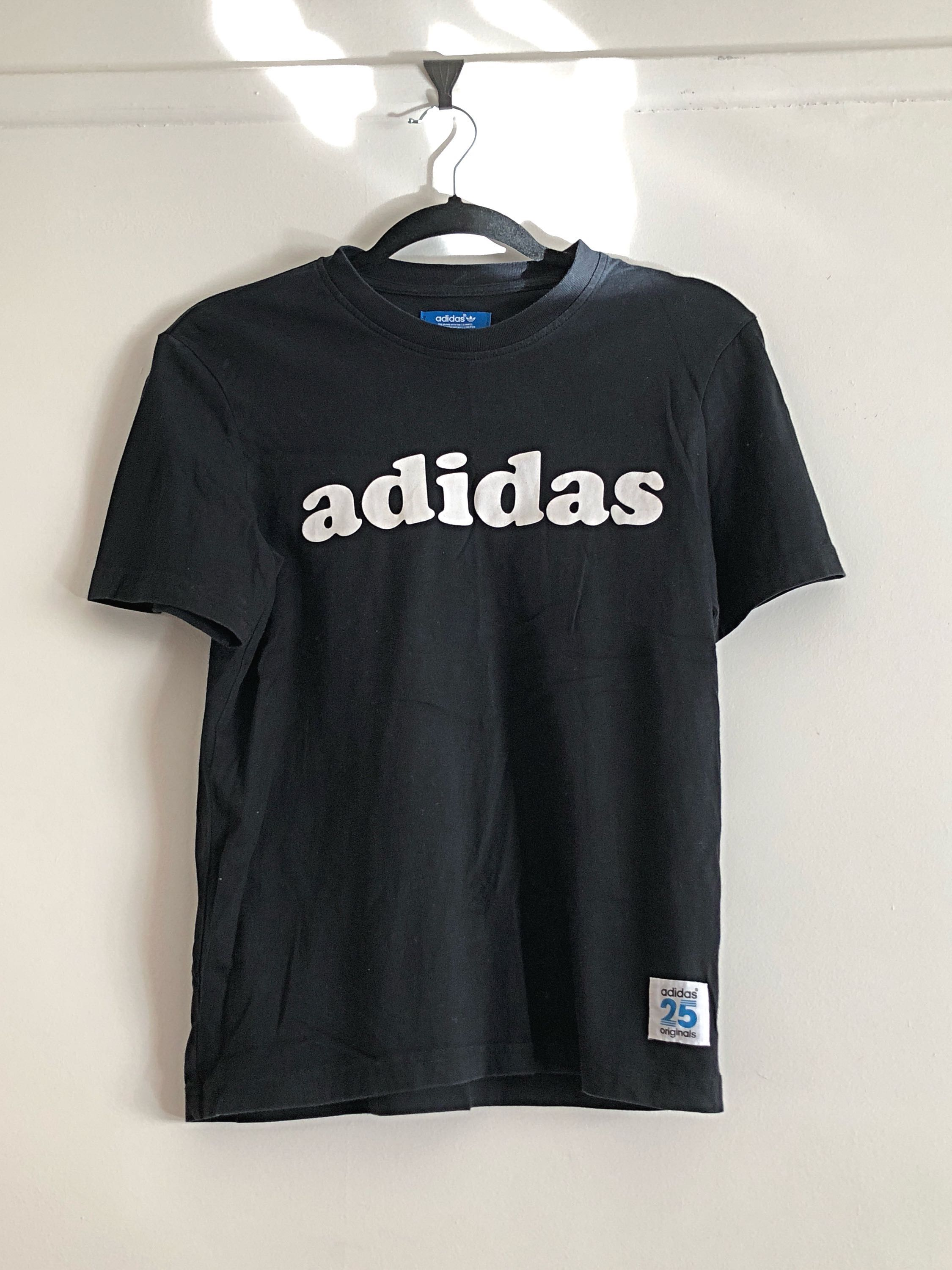 Adidas logo tee shirt top