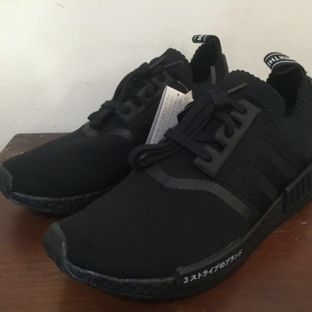 05d3543a1 Adidas NMD R1 Primeknit Japan Triple Black