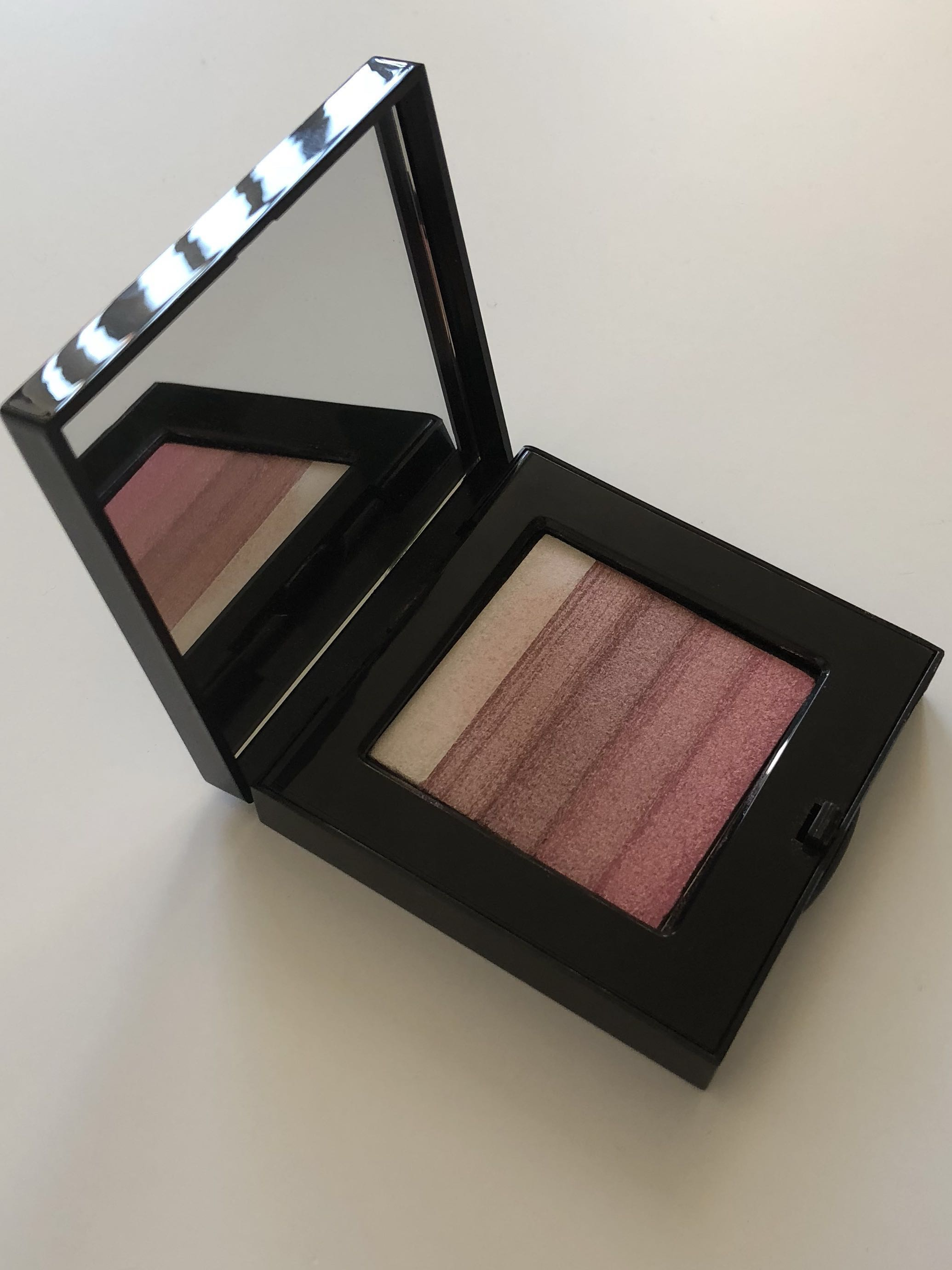 Authentic Bobbi Brown Shimmer Brick Compact Rose