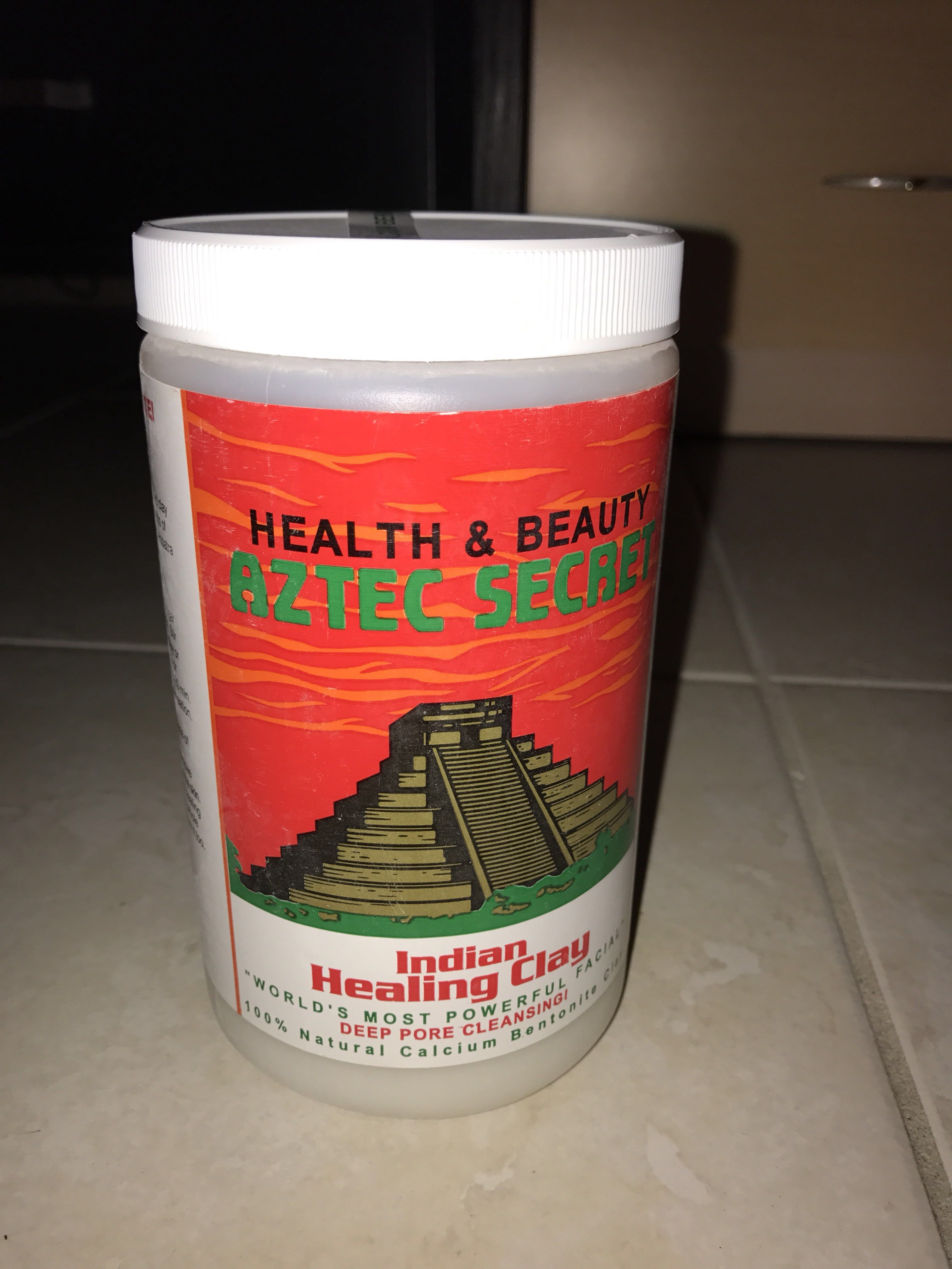 Aztec secret Indian cleaning clay