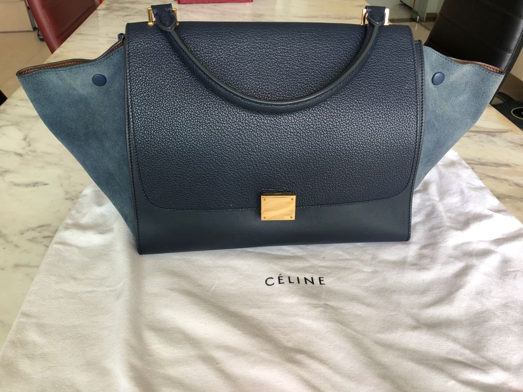 8cc64743d4 Celine Trapeze Medium Bag