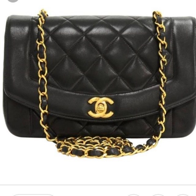 466db9c1c37c Chanel Diana flap bag, Luxury, Bags & Wallets on Carousell