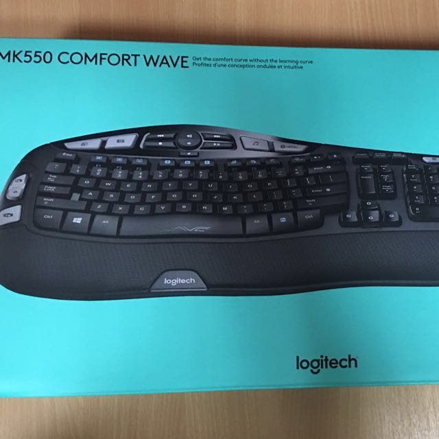 Comfort Wave keyboard and mouse, Electronics, Computer Parts ...