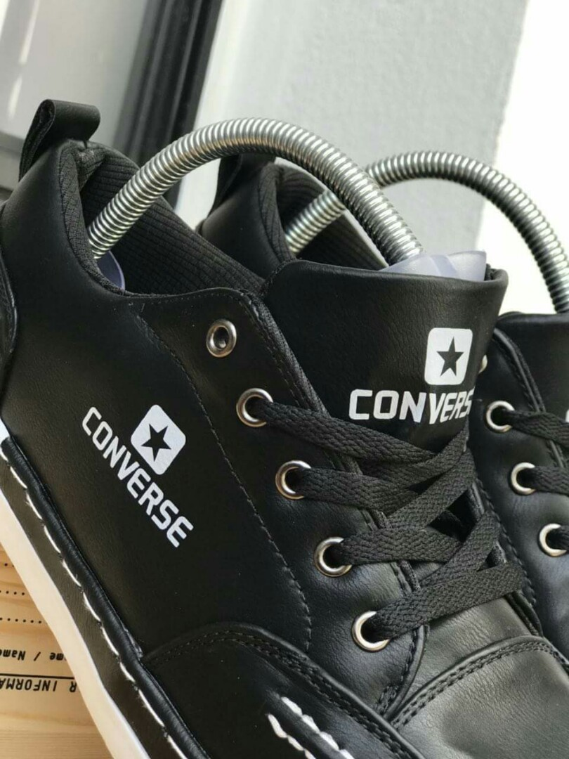 best website 2cdc7 c8e77 Converse X John Color: Black Size 41-45 Price: RM85.00 SM/ RM90.00 SS  Postage: RM10.00 SM/ RM15.00 SS S205, Men's Fashion, Footwear, Sneakers on  Carousell