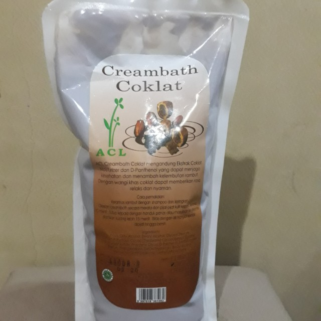Creambath Coklat Kesehatan Kecantikan Perawatan Rambut Di Carousell