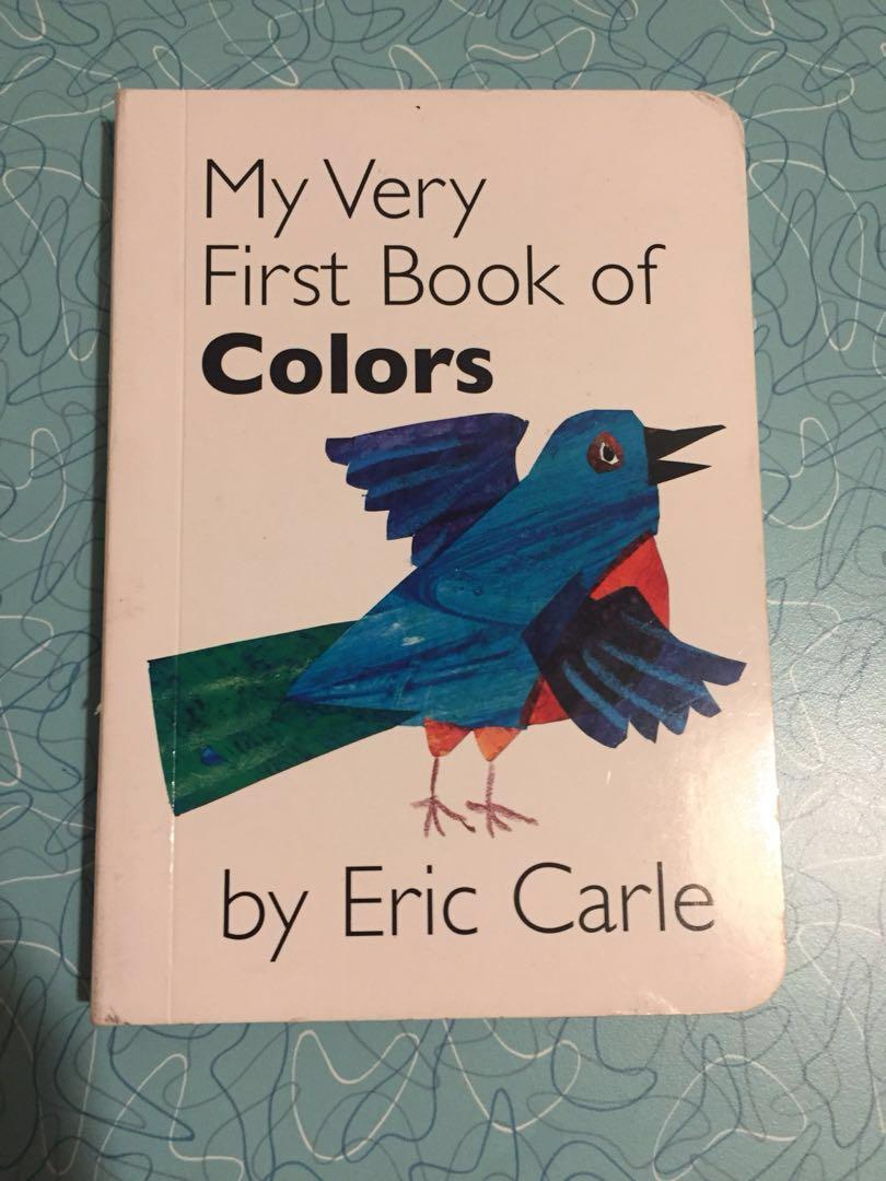 Eric Carle - baby/toddler book