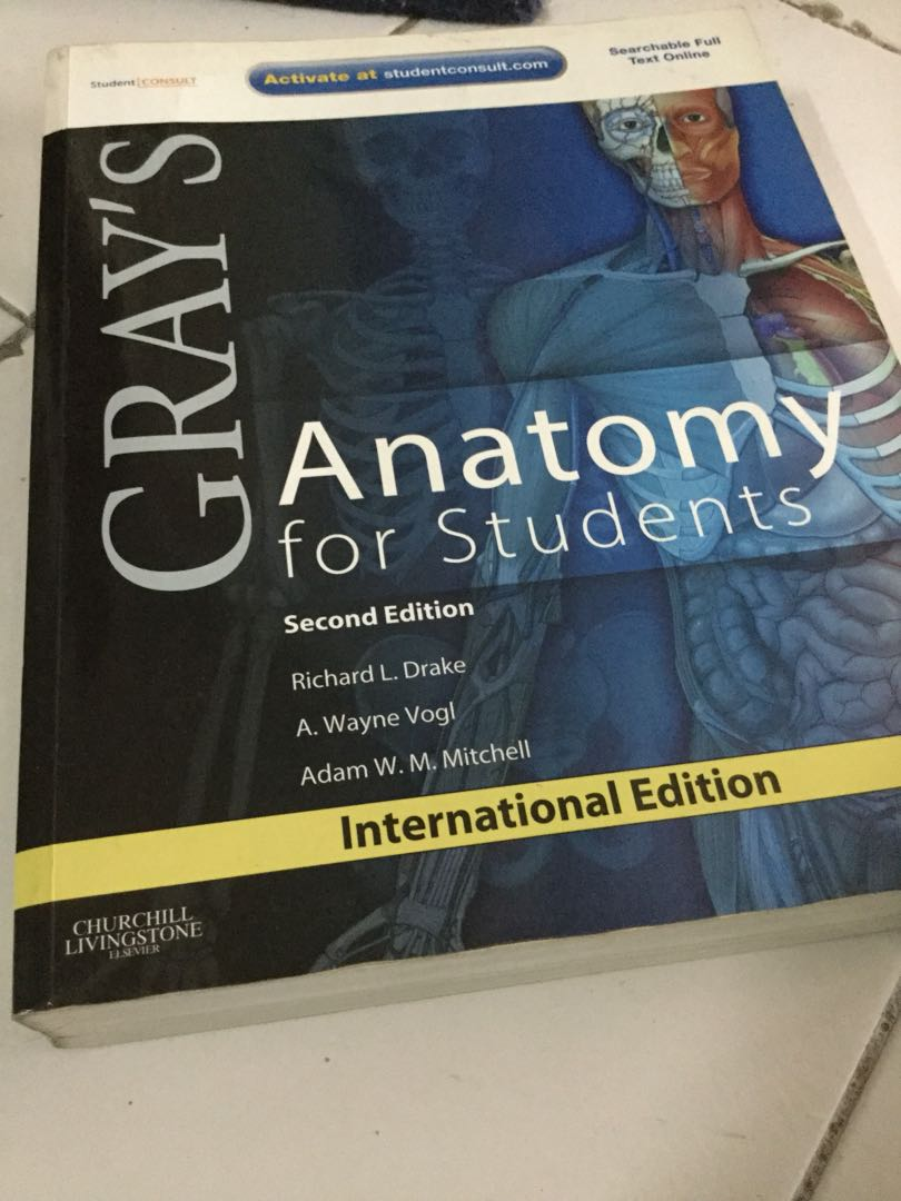 Grays Anatomy For Students 2nd Edition Textbooks On Carousell