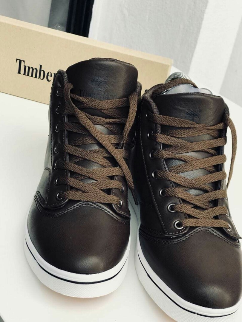 low priced e0714 bbcd4 Highcut Timberland Thomas Color: DarkBrown Size 40-44 Price: RM80.00 ...