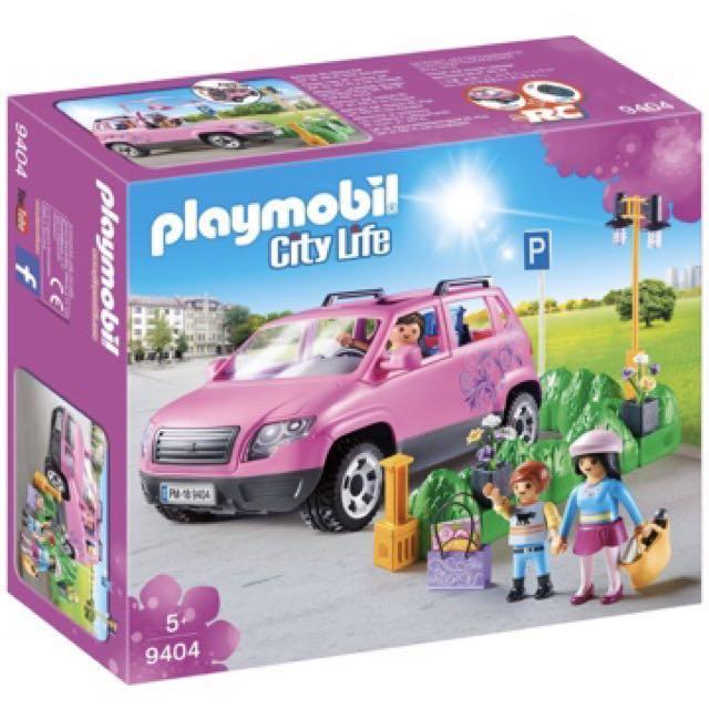 instock*Playmobil 9404 Pink SUV, Toys & Games, Bricks & Figurines on ...