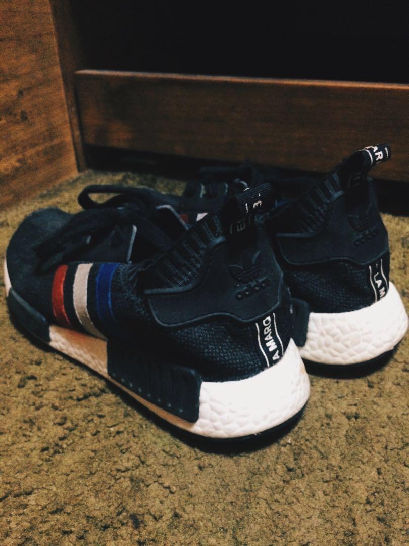 61906b842 ... shop jual adidas nmd r1 tri color fesyen pria sepatu di carousell d629a  aa34d