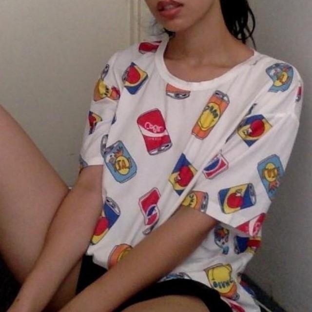 K-style printed t-shirt