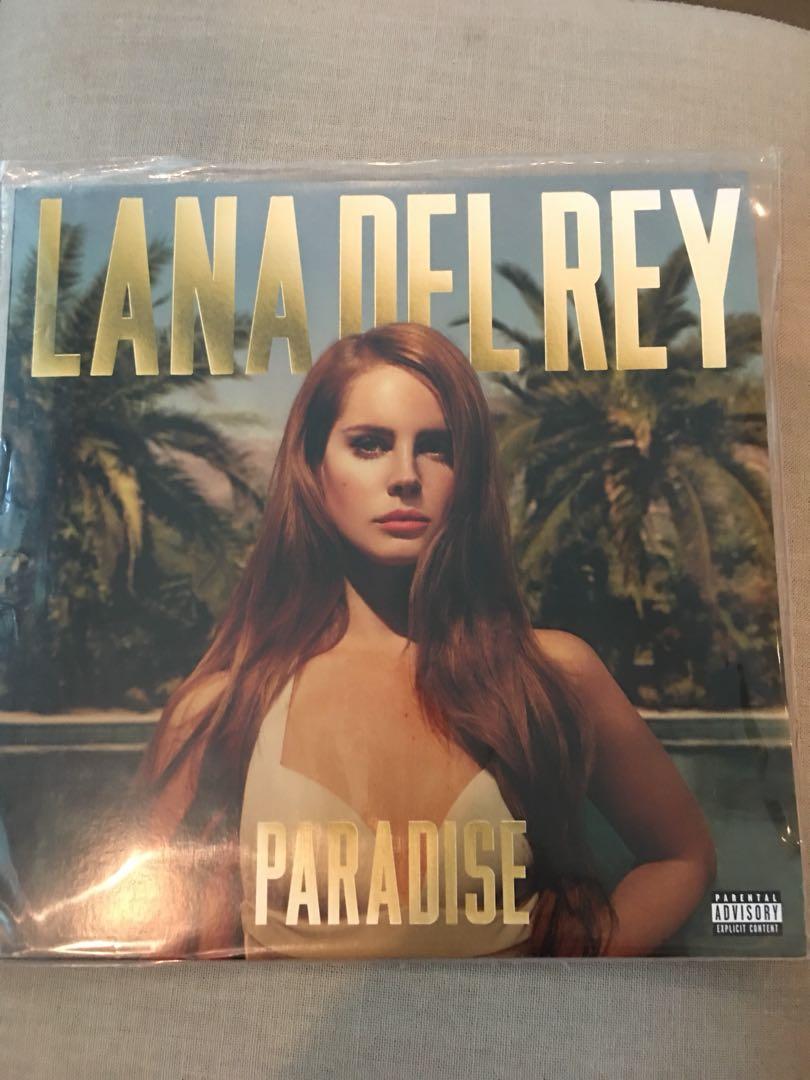 Lana Del Rey Paradise Album In Vinyl Music Media Cds Dvds Other Media On Carousell
