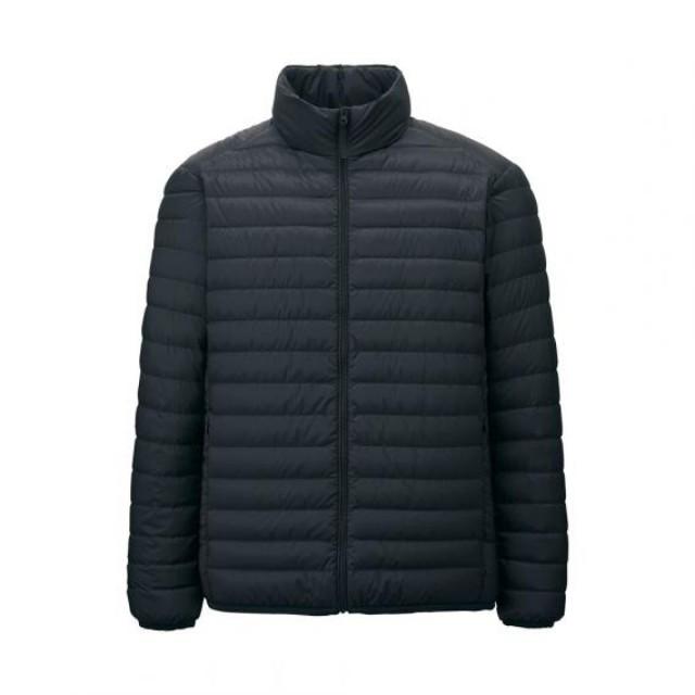 Men Ultra Light Down Jacket (Black)