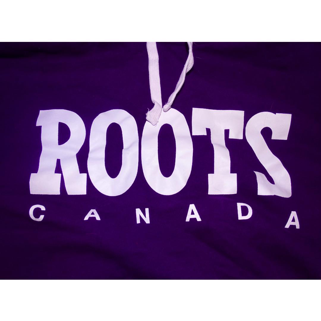 Mens Purple Roots Hoodie