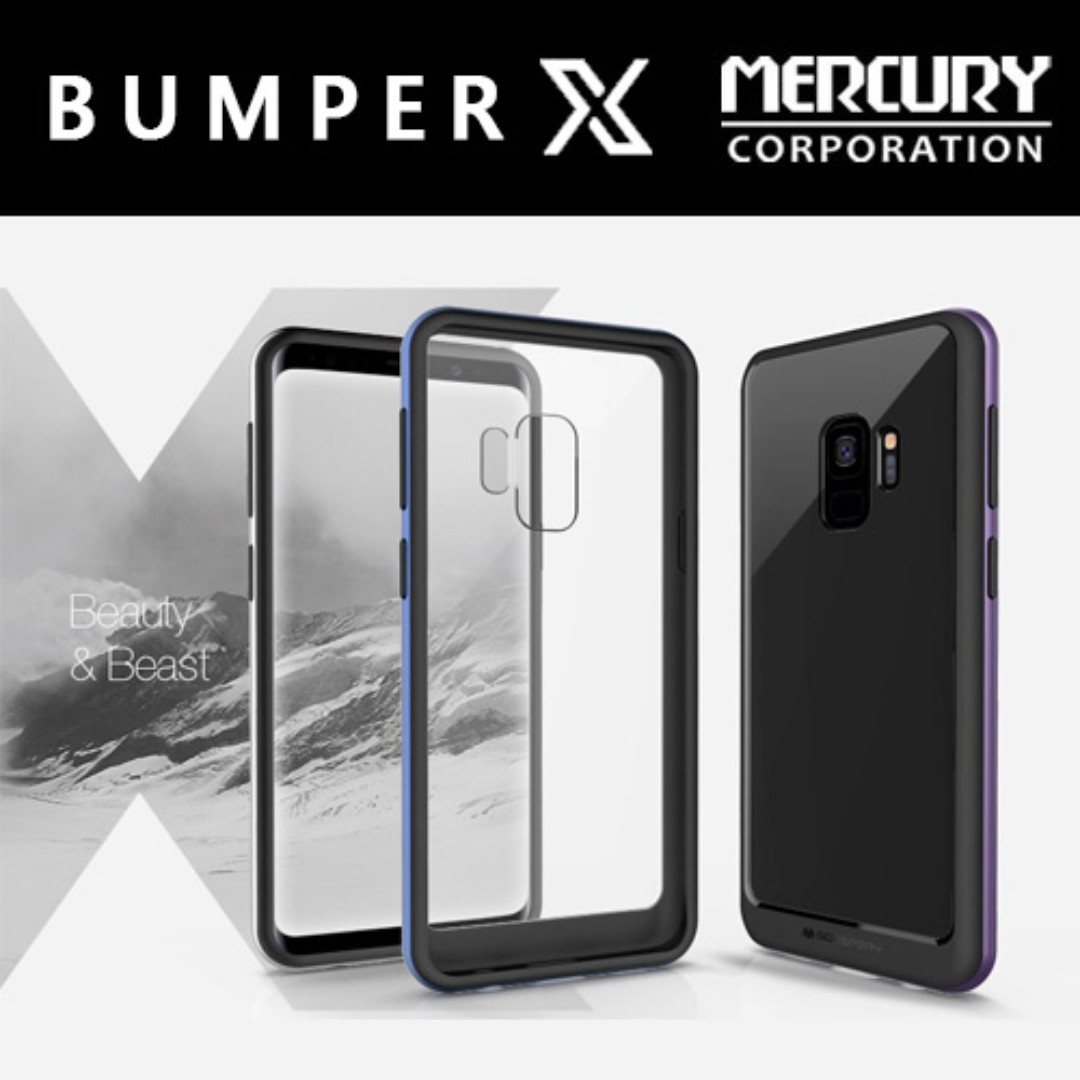 Mercury New Bumper X Case Mobile Phones Tablets Tablet Goospery Samsung Galaxy S8 Plus Gold Accessories On Carousell