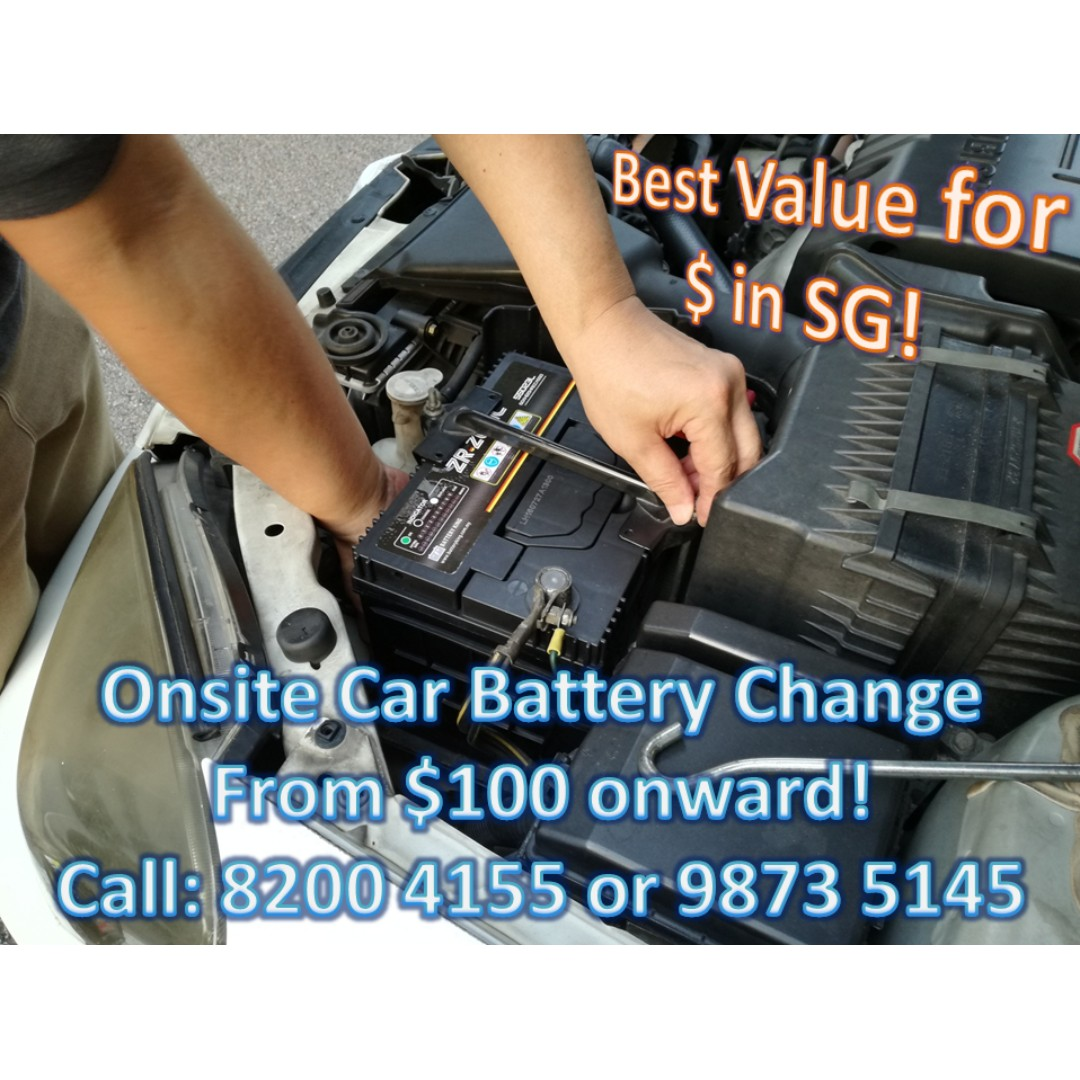 *MOBILE* CAR BATTERY CHANGE REPLACEMENT