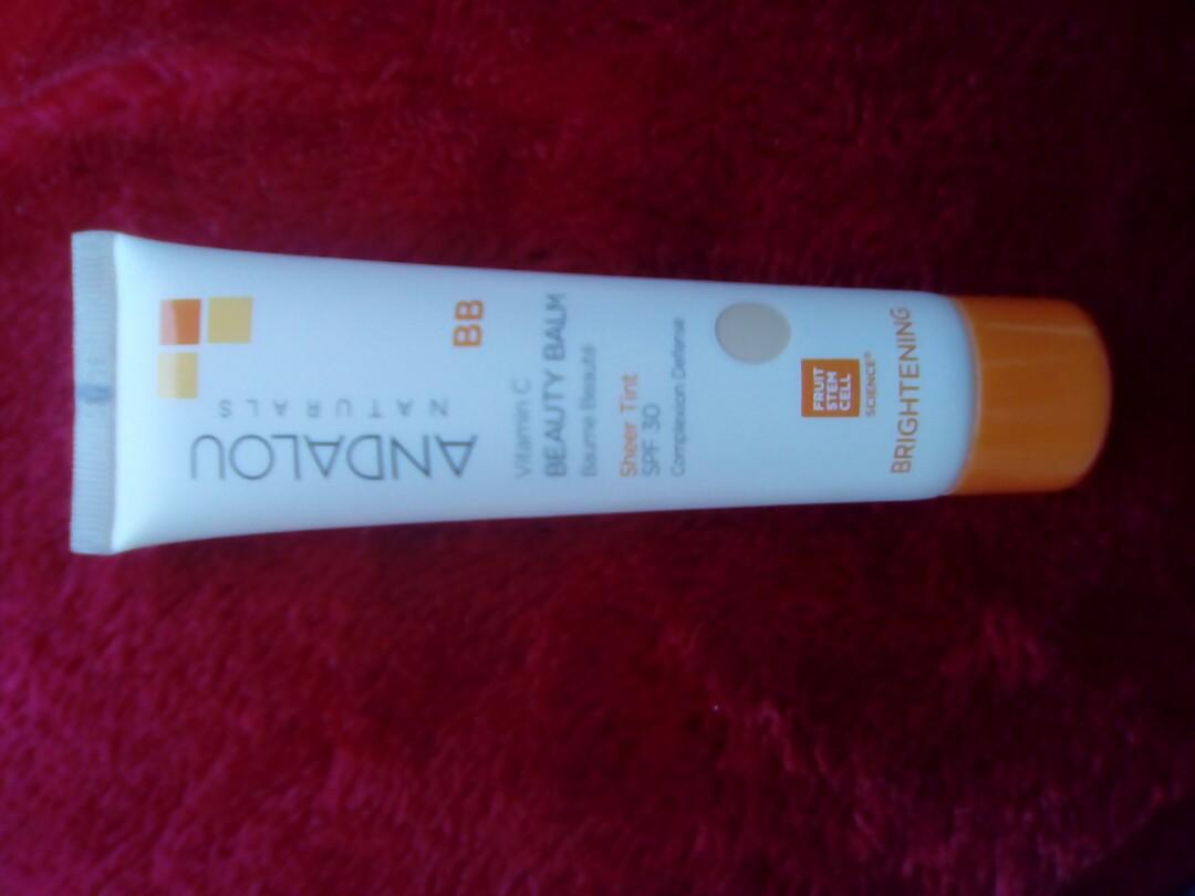 NATURAL/ORGANIC Vitamin C Beauty balm