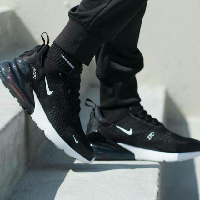 f700c6a16c20 nike air max 270 triple black black white