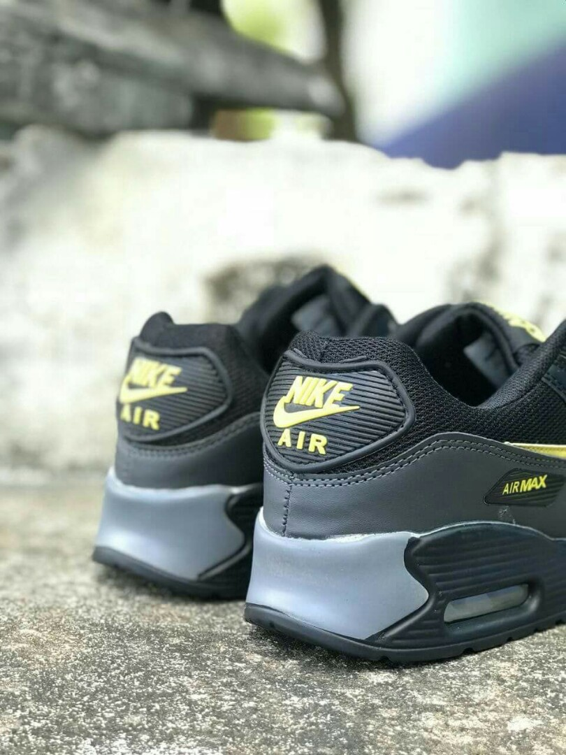 on sale b1974 5b1f4 Nike Airmax Color: Black Yellow Price : RM80.00 SM / RM85.00 SS Free  postage. Size : 41 - 45 euro check stock pm www.wasap.my/60196281602, Men's  Fashion, ...