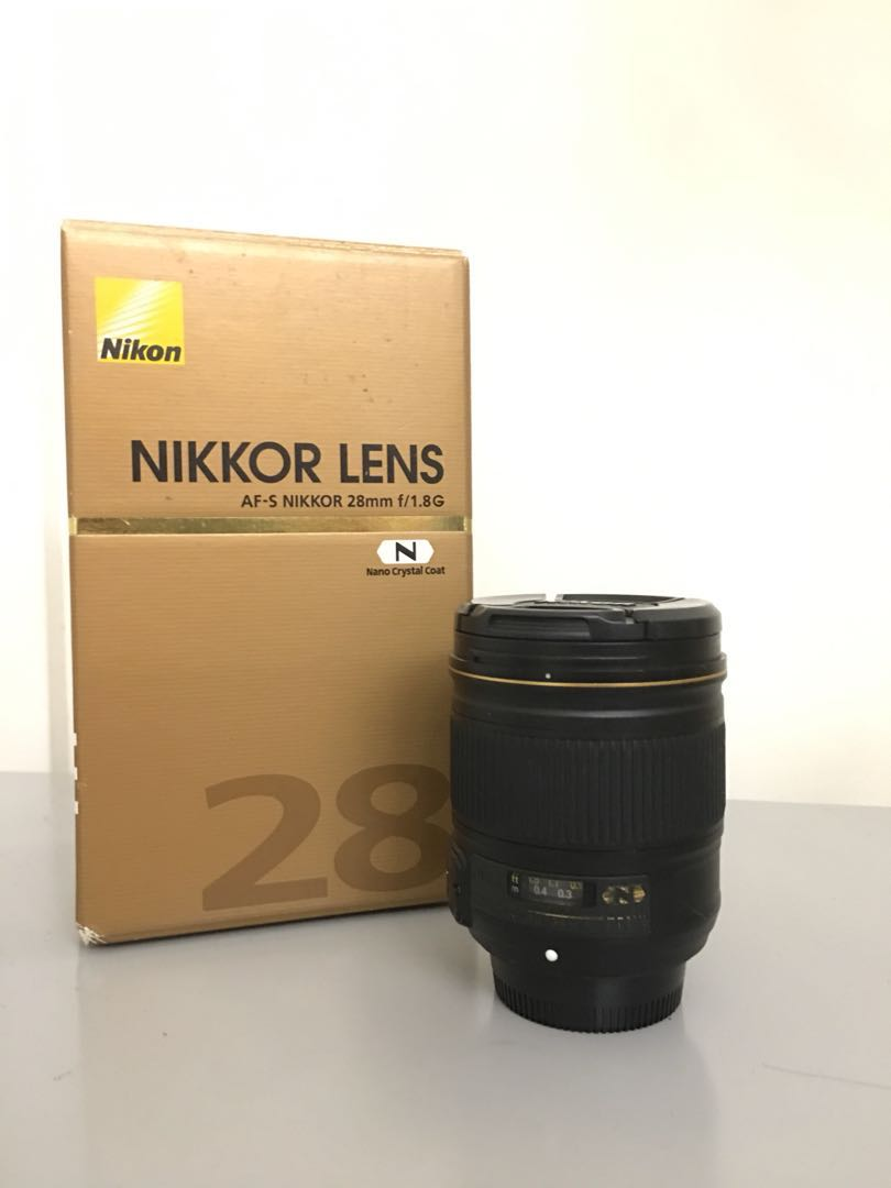 Nikon 28mm F18g Lens Photography On Carousell Af S Photo