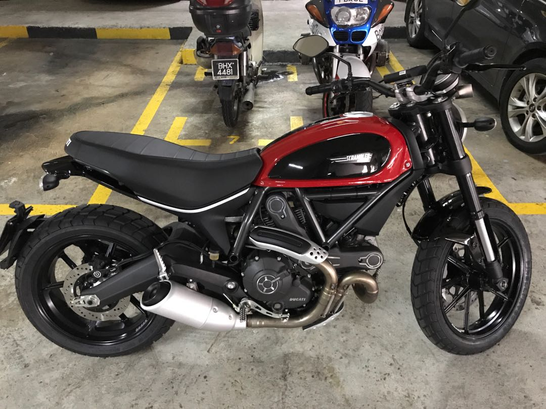 Original Ducati Scrambler Icon Alloy Wheels For Sale Motorbikes