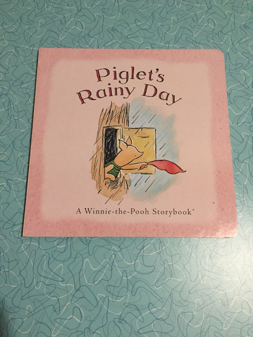 Piglet's rainy day - baby/toddler book