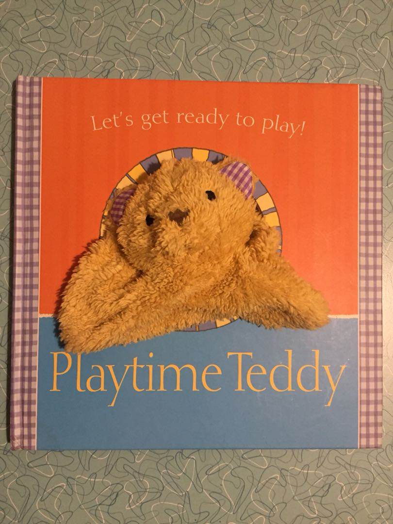 Playtime teddy - baby/ toddler book