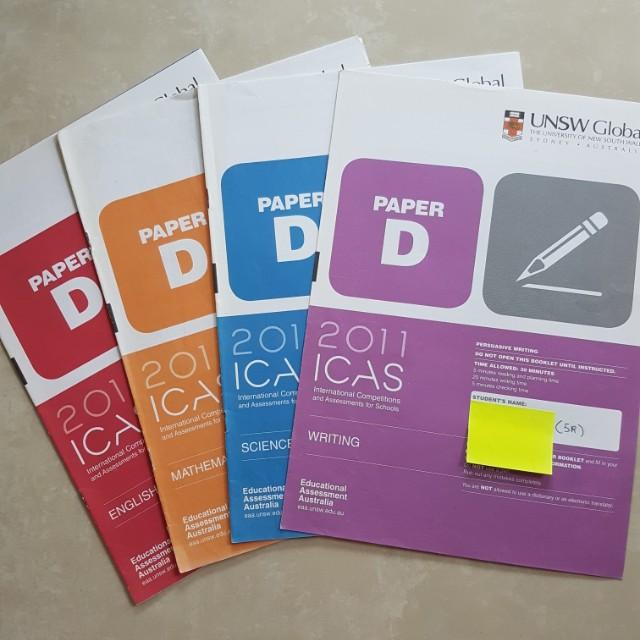 Primary 5 ICAS Papers
