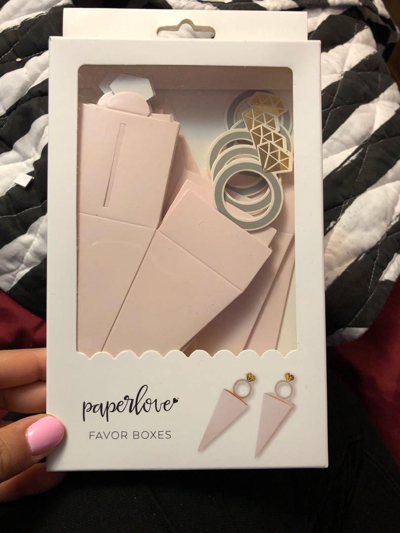 Ring Favour Boxes