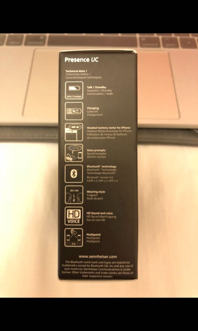 Sennheiser Presence UC Bluetooth Headset