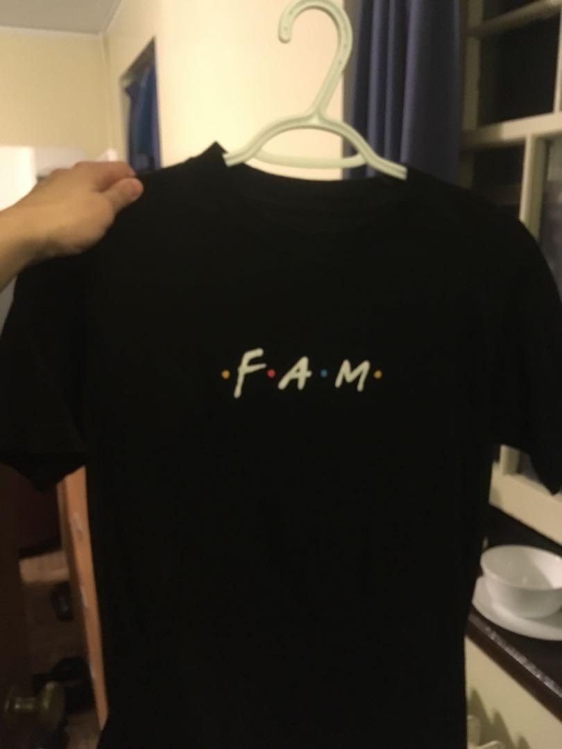 small FAM shirt