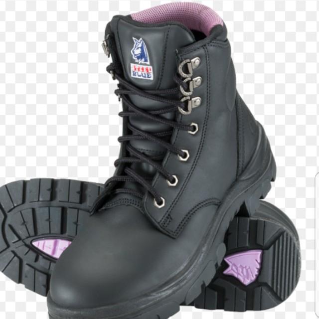 dbdac31a Steel Blue Argyle safety boots