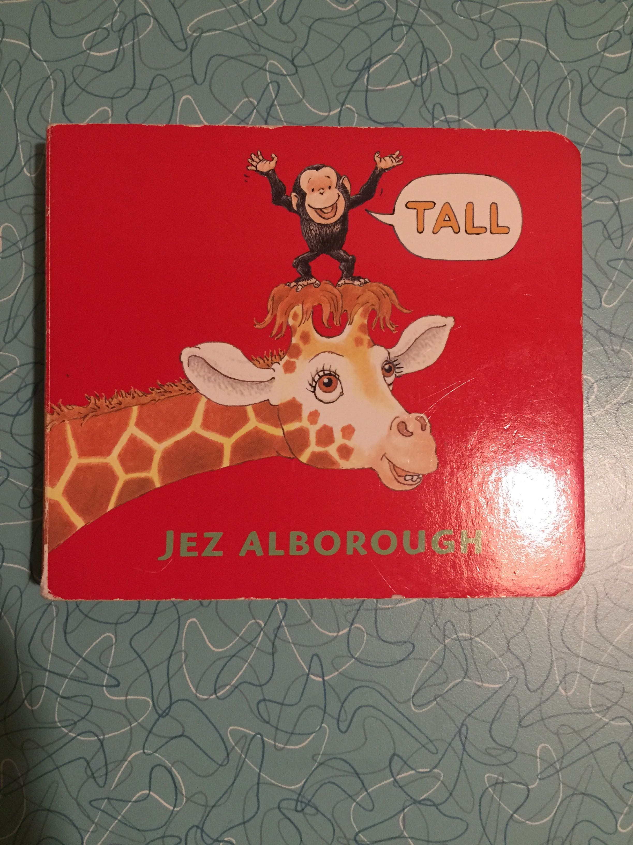 Tall - baby/toddler book