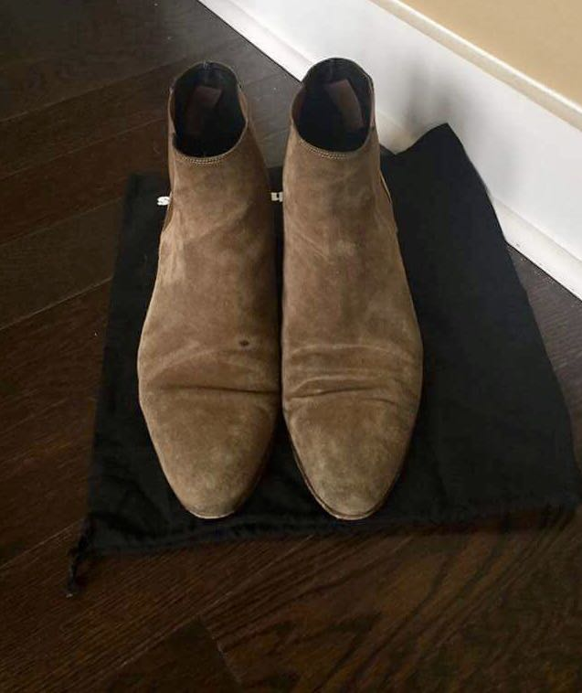 The kooples suede Chelsea boots